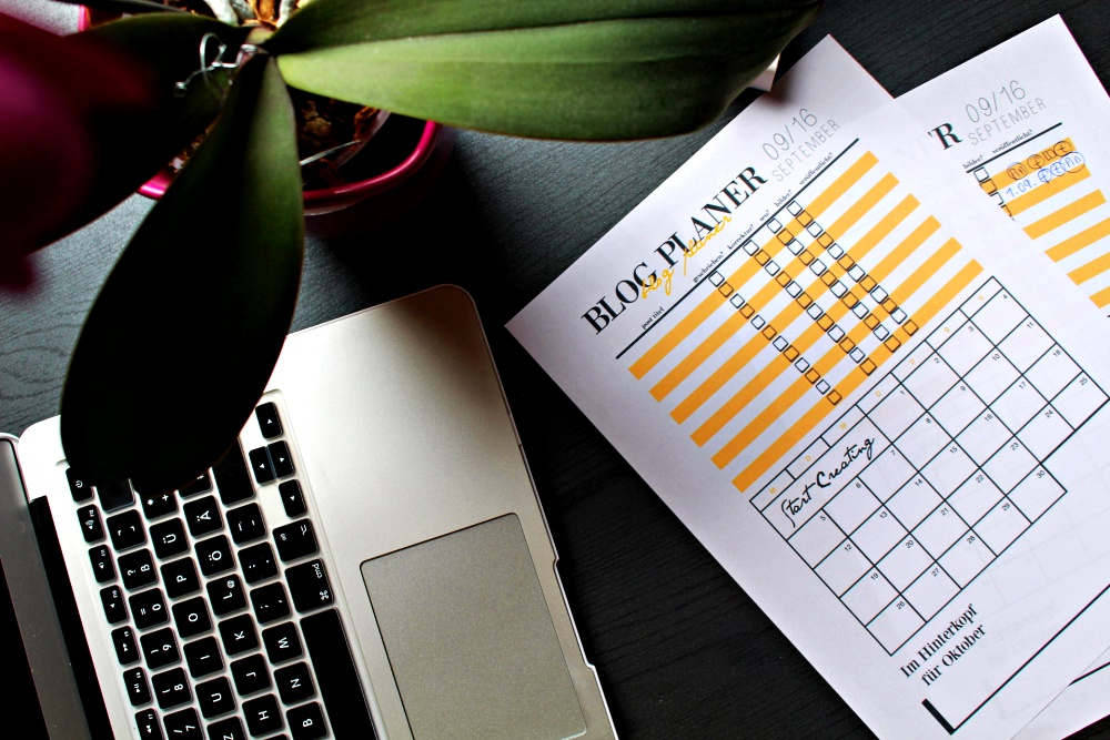 blog Inhalte planen kalendar