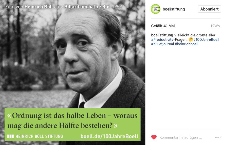 medienvielfalt, anders Stipendium Heinrich Böll Stiftung